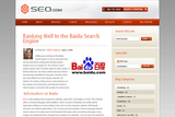 To Baidu or not to Baidu?