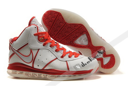 Nike Air Max LeBron VIII Home New Image