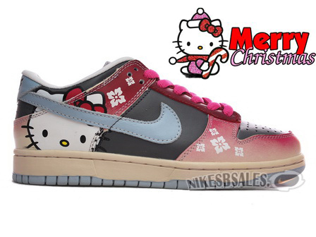 Nike Women Hello Kitty Dunk Low SB Premium Edition
