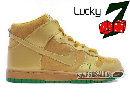 Nike Dunk High Pro SB Lucky 7 Edition