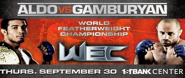 Watch WEC 51: Aldo vs. Gamburyan Live Stream Online  | e-BUZZ Online