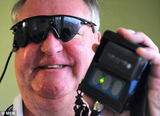 Blind man fitted with 'bionic' eye sees for first time in 30 years