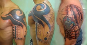 Tribal Shoulder Tattoos for Men  | Tribal Tattoos
