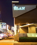 Lodging at Elan Hotel Modern in Los Angeles, California