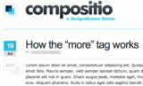 Compositio: Clean, Beautiful and Free WordPress Theme | Freebies | Smashing Magazine