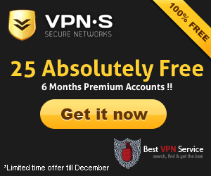 25 Absolutely Free 6 Months Premium Accounts !! | Bestvpnservice.com Blog